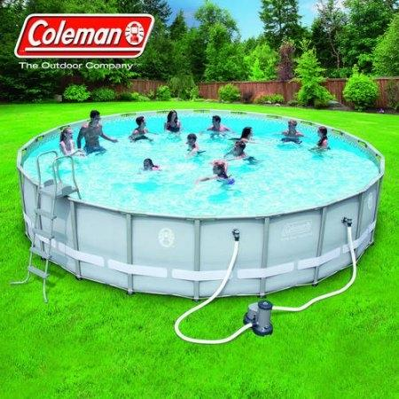 Find More Coleman 22 X 52 Power Steel Frame Above Ground