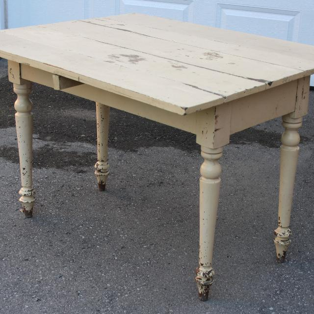 Find More Antique Rustic Shabby Chic Drop Leaf Farmhouse Table For