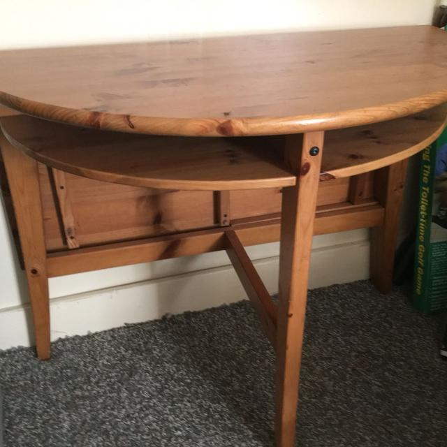 Find more Ikea Table Set With Drop Leaf Table Extension & Chairs ...