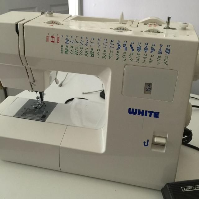 Best White Heavy Duty Sewing Machine For Sale In Lawrenceville Inspiration White Heavy Duty Sewing Machine