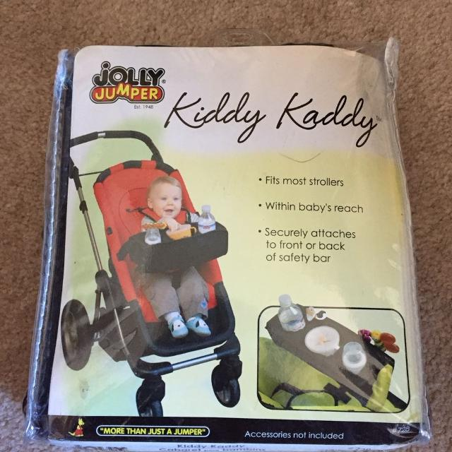 cc6f332a8 Find more New - Jolly Jumper Kiddy Kaddy Snack Tray In Black for ...