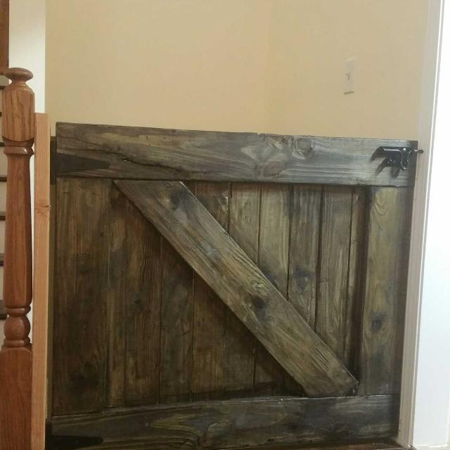 Custom Built Barn Door Baby Or Pet Gate