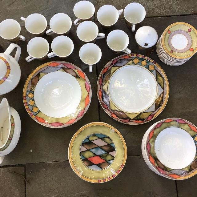 Find more Palazzo By Paul Zanger Sasaki Dinner Set Fine Porcelain ...
