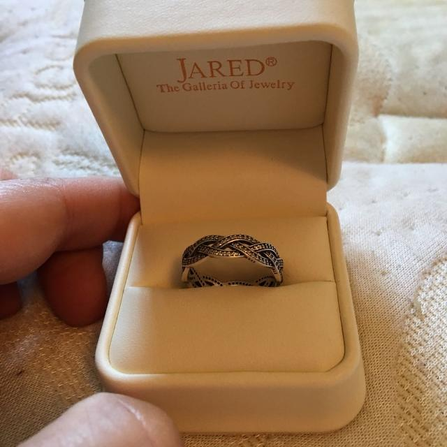 5f7348405 Find more Jared Cz Pandora Braided Ring for sale at up to 90% off