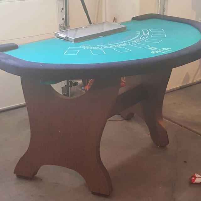 real casino blackjack tables for sale