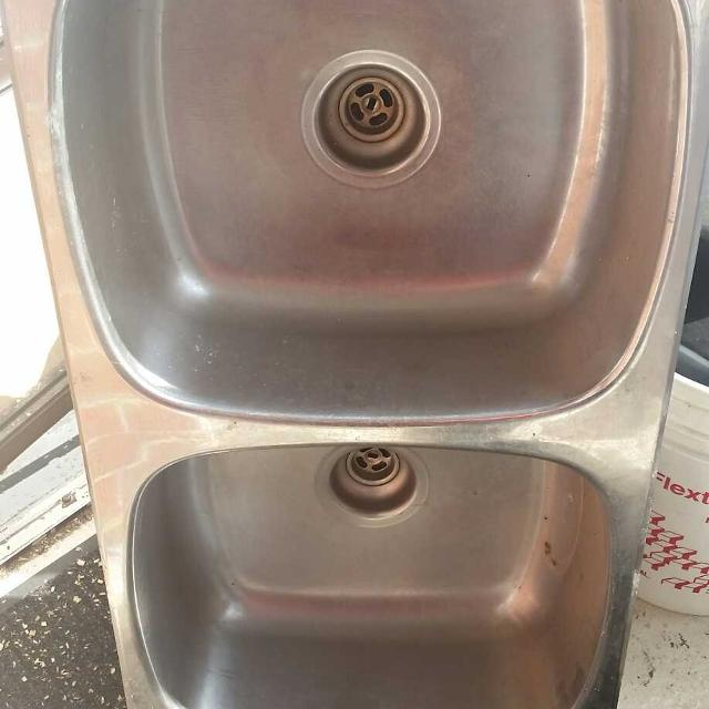 Double stainless steel kitchen sink price dropped to 80 dollars