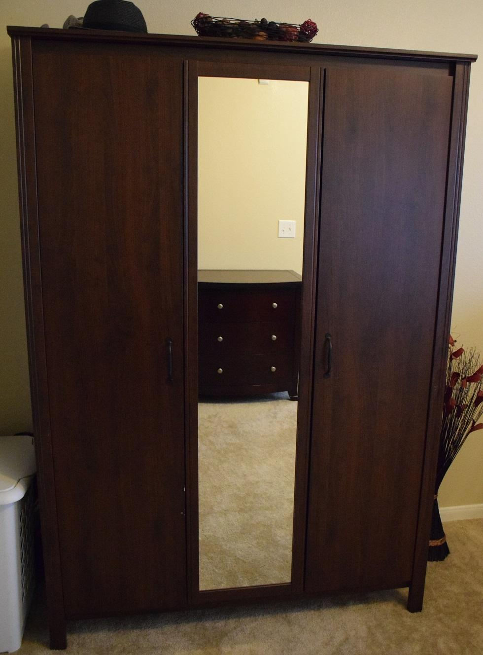 Find More Ikea Brusali Armoire Brown Coffee For Sale At Up To 90
