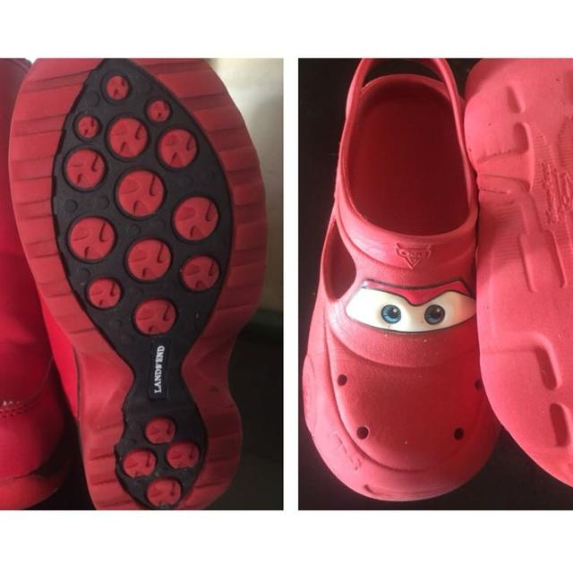 821749084ff Find more Lands End Boots And Cars Lightning Mcqueen Crocs for sale ...