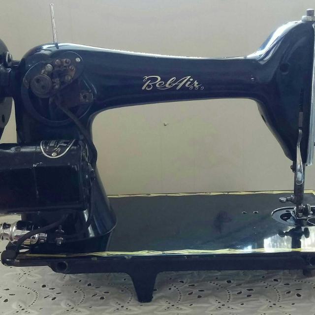 Best Vintage Bel Air Imperial Sewing Machine For Sale In Stockton Impressive Belair Sewing Machine