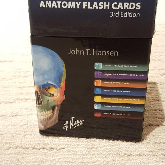Find More Netters Anatomy Flashcards 3rd Ed For Sale At Up To 90 Off