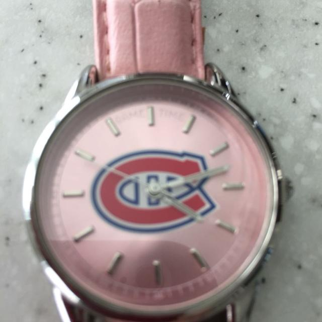 5f6c940ee8 Find more Montreal Habs Pink Watch for sale at up to 90% off ...