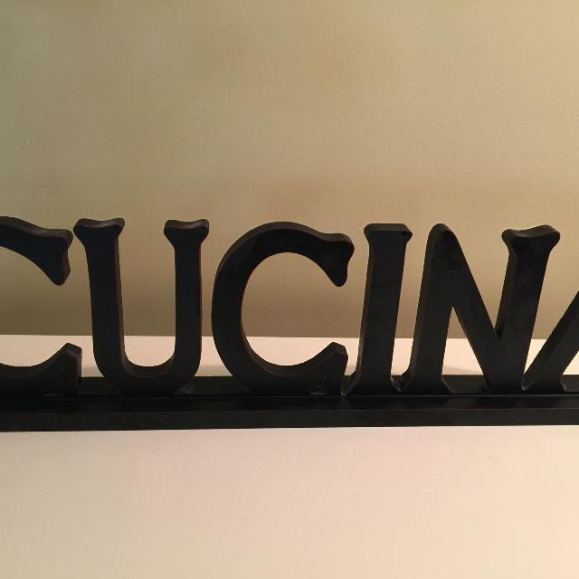 Cucina Free Standing Sign