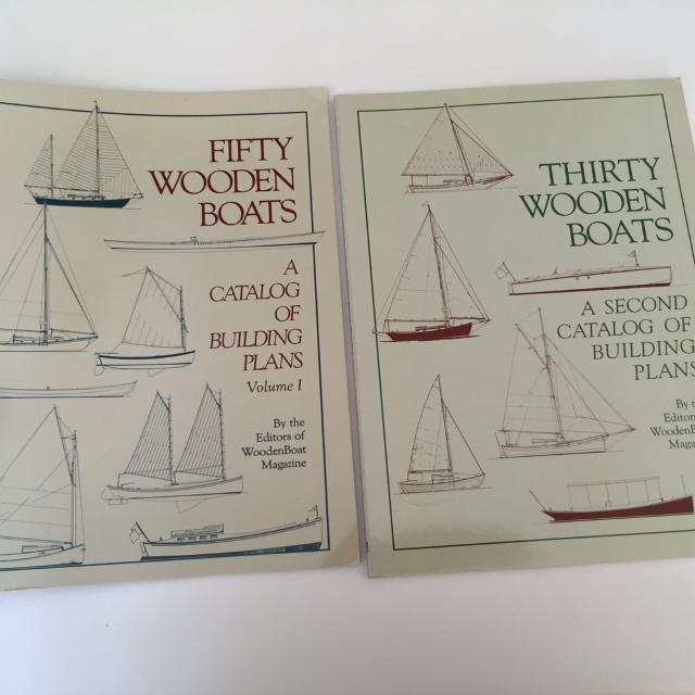 50 Wooden Boats A Catalogue Of Building Plans Sailing Boat Books
