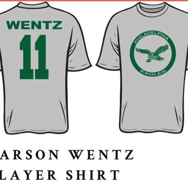 online store 7bad9 6ae16 Philadelphia Eagles Carson Wentz t-shirts. Youth sizes small-Large and  adult size small-Extra Large. 2XL $14, 3XL $15