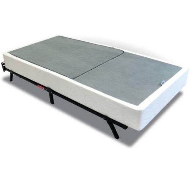 Best Mainstays Half Fold Metal Box Spring Queen Size For Sale
