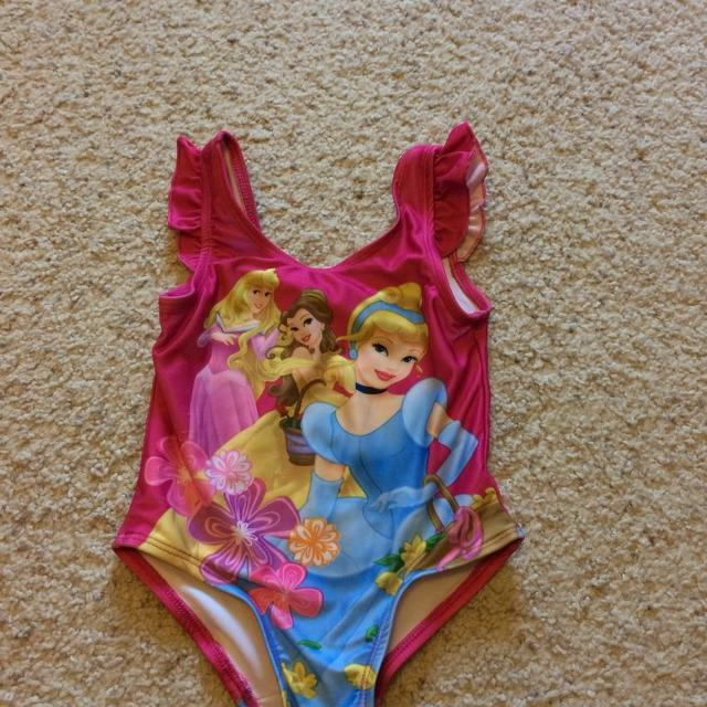 Finding Some Spots Of Bright Color At >> Find More 3t Disney Princess Bathing Suit Bright Colors Just A