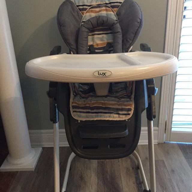 Find more Safety 1st Lux Nosh High Chair Watercolour for sale at – Safety 1st Wooden High Chair