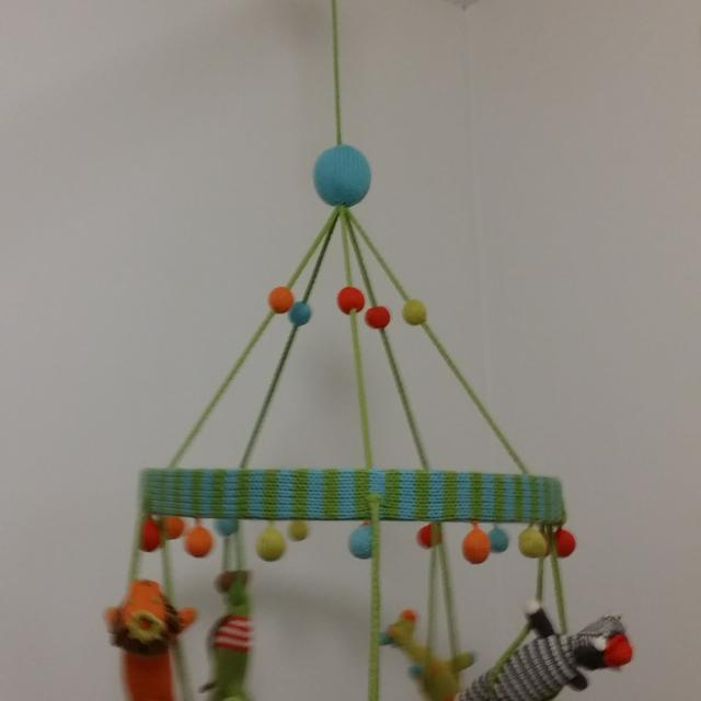 Blabla Animal Jungle Mobile Nursery Hand Made