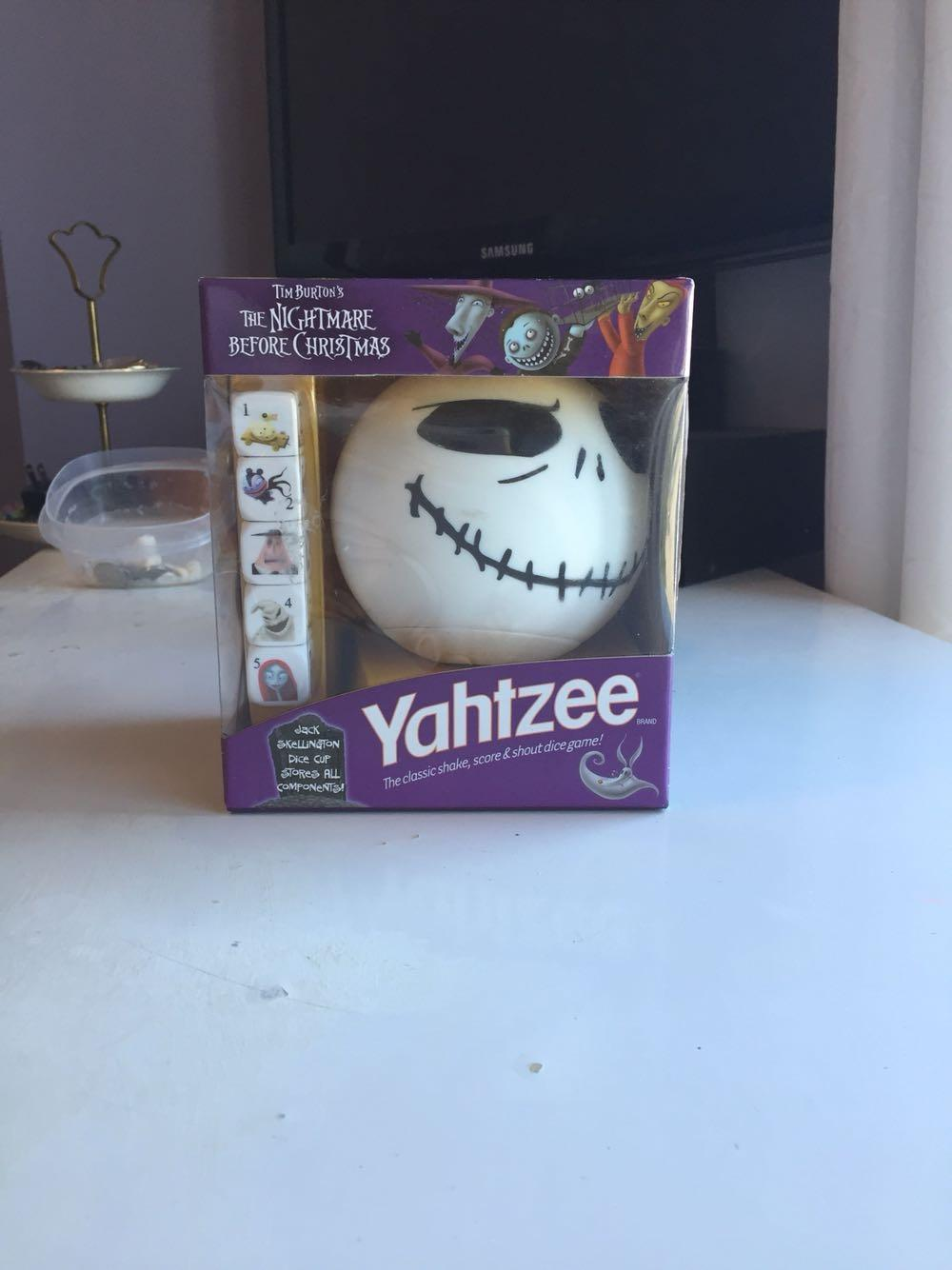 Find more Yahtzee Limited Edition Nightmare Before Christmas for ...