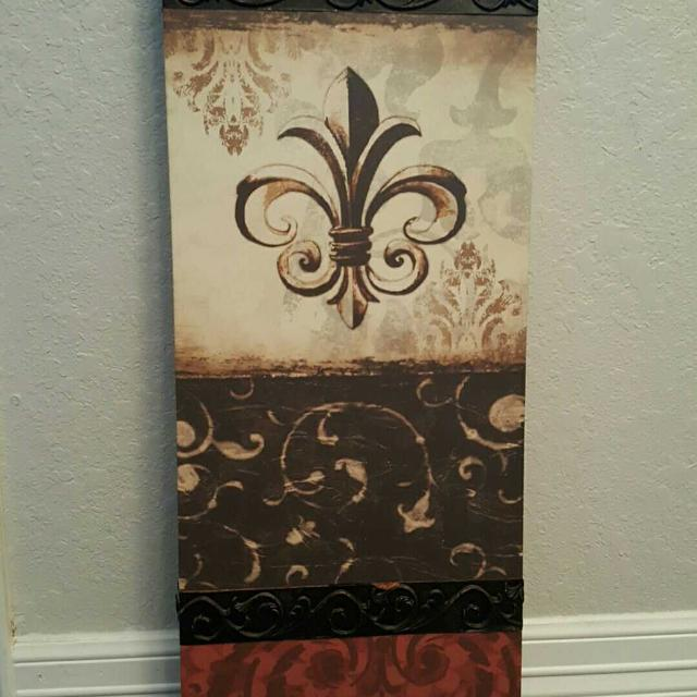 Find More Hobby Lobby Fleur De Lis Wall Art For Sale At Up To 90 Off