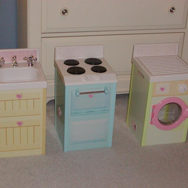 Oven Kitchen Set: Find More Rose Petal Cottage Dream Town Washer, Sink, And