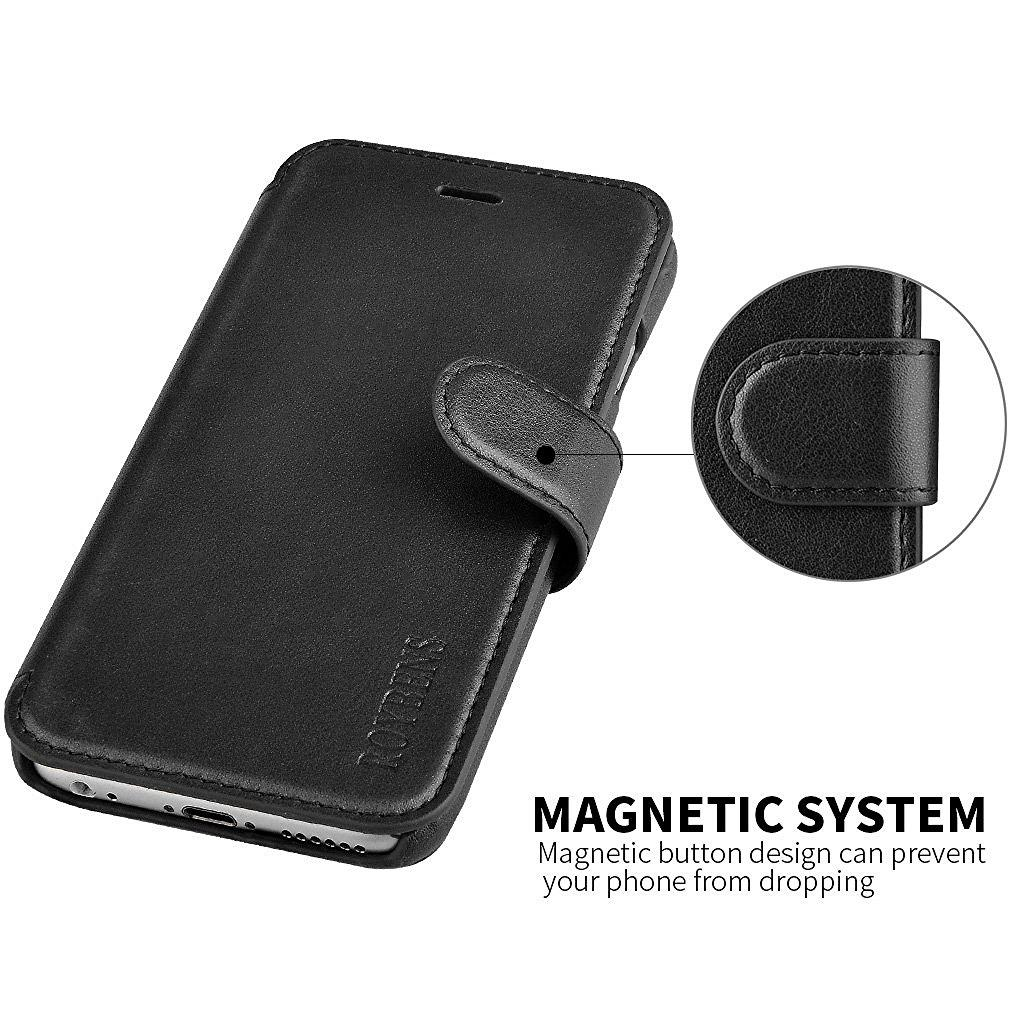 huge selection of b537f b6ae5 iPhone 6S Case Wallet,Roybens [Kickstand Feature] Premium Leather Wallet  Cover with Card Slots and Money Pocket for Apple iPhone 6/6S (2016)