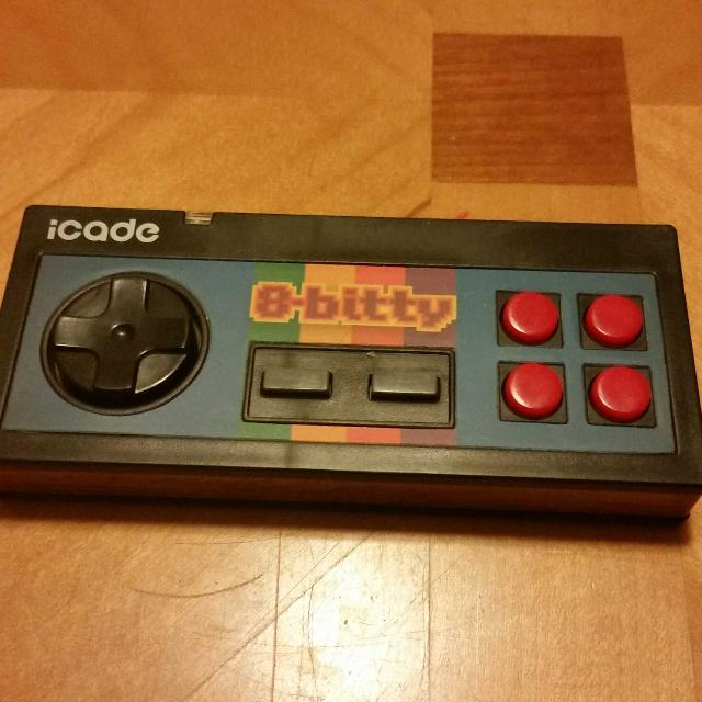 iCADE 8-Bitty ThinkGeek Mobile Bluetooth Controller, Android iOS Game  Emulator