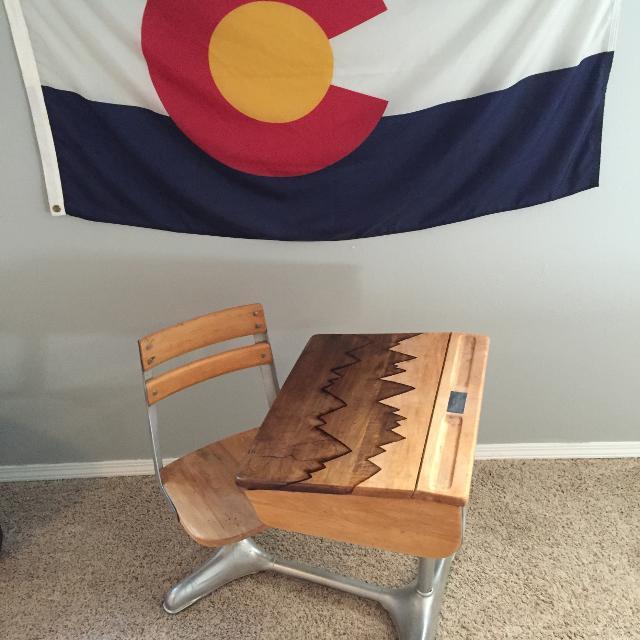 Refurbished Antique School Desk - Best Refurbished Antique School Desk For Sale In Highlands Ranch
