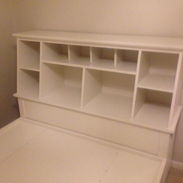 Pottery Barn Teen Stuff your Stuff Headboard and Store It Bed Full Size