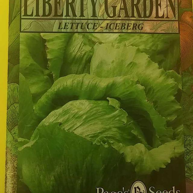 Find more Page\'s Liberty Garden Iceberg Lettuce Seeds, Swap Only for ...