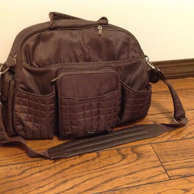 Brown Lug Diaper Bag