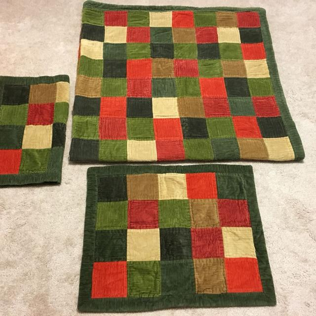 Find more Woolrich Home Queen Size Corduroy Patchwork Quilt And ... : woolrich quilted blanket - Adamdwight.com