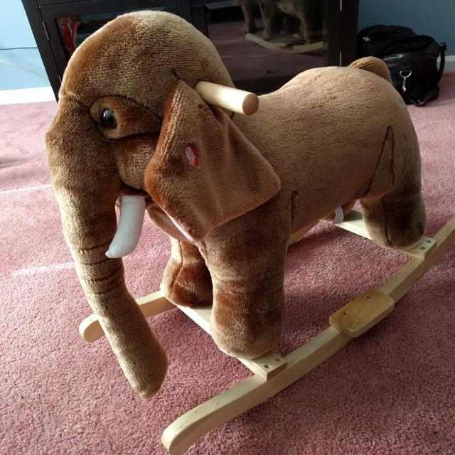 Wooly Mammoth Rocking Toy Wow Blog