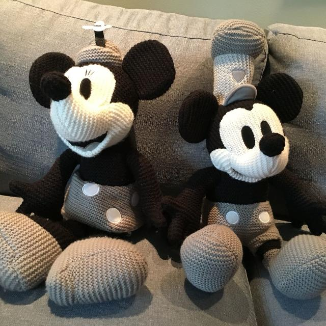Find More Disney Parks Mickey Mouse Crochet Knit Steamboat Willie