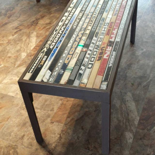 Find More Hockey Stick Coffee Table For Sale At Up To 90 Off Regina Sk