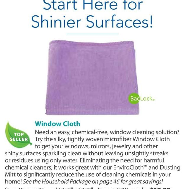 Norwex Cleaning Cloth Glass: Find More Never Used Norwex Window Cloth For Sale At Up To