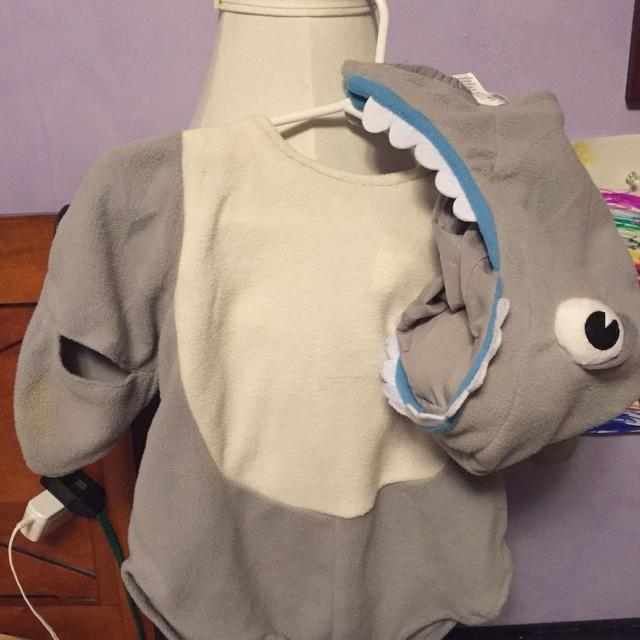 Best Pottery Barn Shark Baby Costume For Sale In Brockton Village