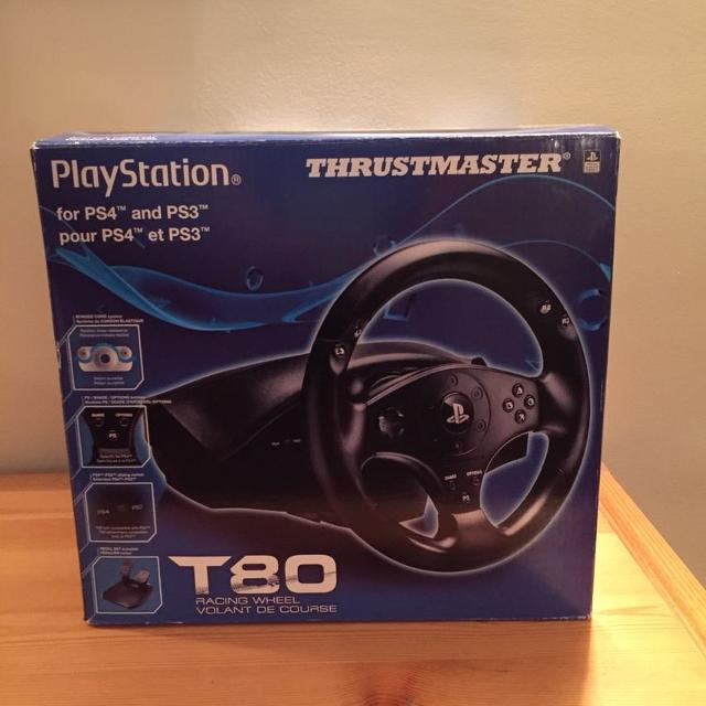 Thrustmaster T80 steering wheel for PS3 / PS4