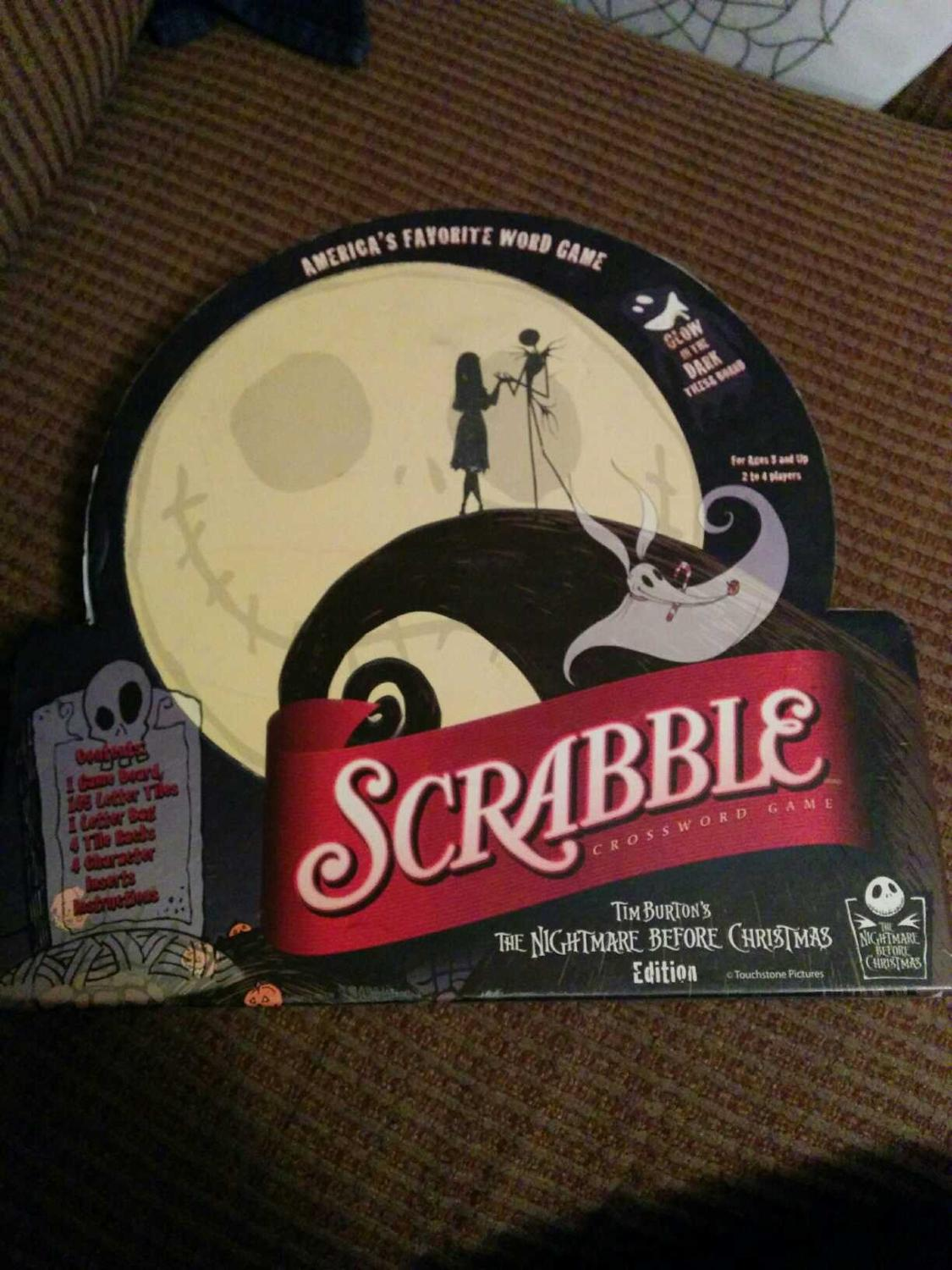 Find more Euc Nightmare Before Christmas Scrabble for sale at up to ...
