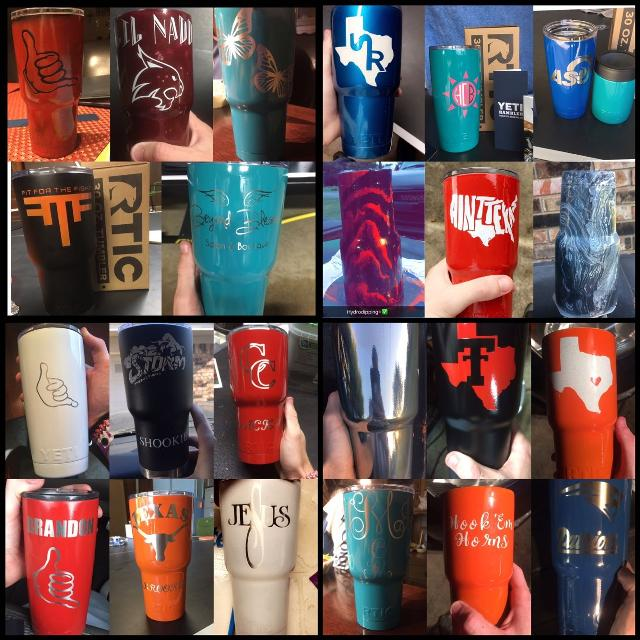best custom powder coated cups for sale in san marcos texas for 2018