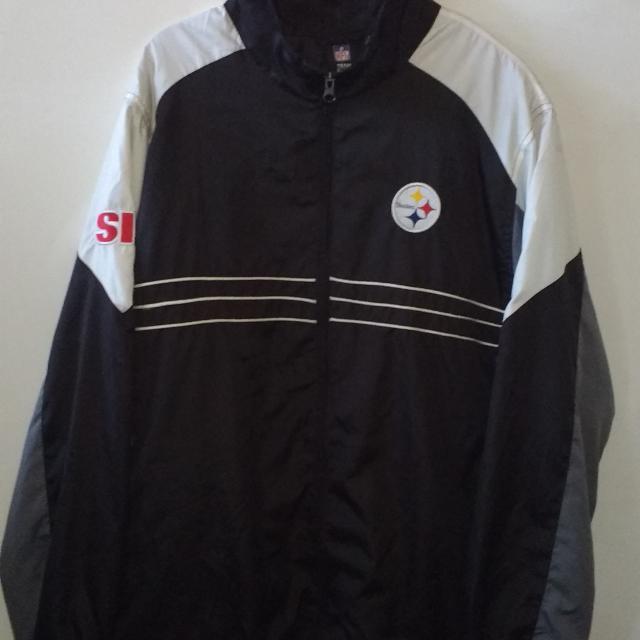 the best attitude 60bb6 9892c Official NFL PITTSBURG STEELERS Windbreaker Jacket