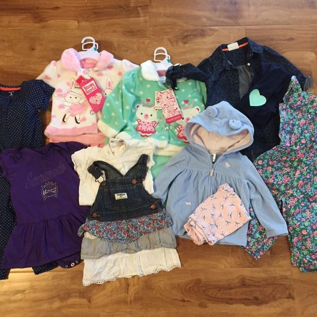 86504c127 Find more Huge Lot Of 18mo Girls Clothes!!! for sale at up to 90% off