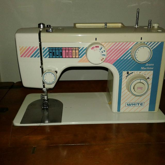Best White Sewing Machine Company Jeans Machine For Sale In Clearwater Florida For 2020