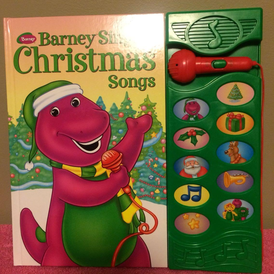 Best Barney\'s Christmas Songs Book for sale in Victor Ashe Park ...