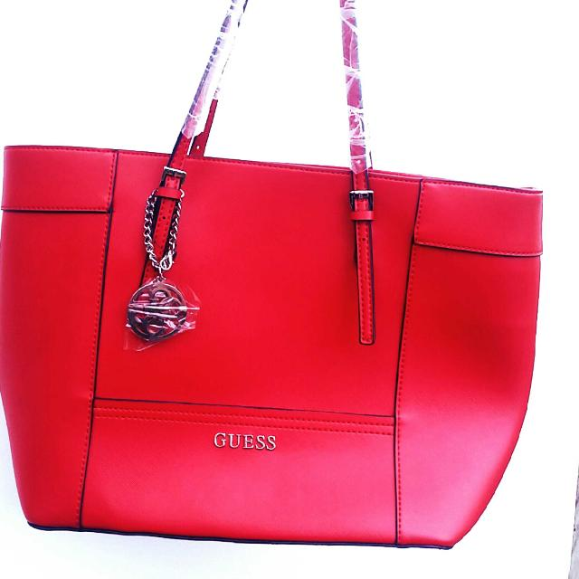 80f0251607fc Best Large Red Guess Bag for sale in Richmond Hill