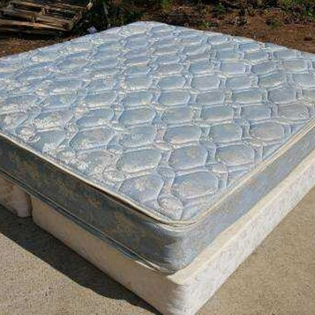 Find More King Size Mattress And Box Springs Set Double Pillowtop