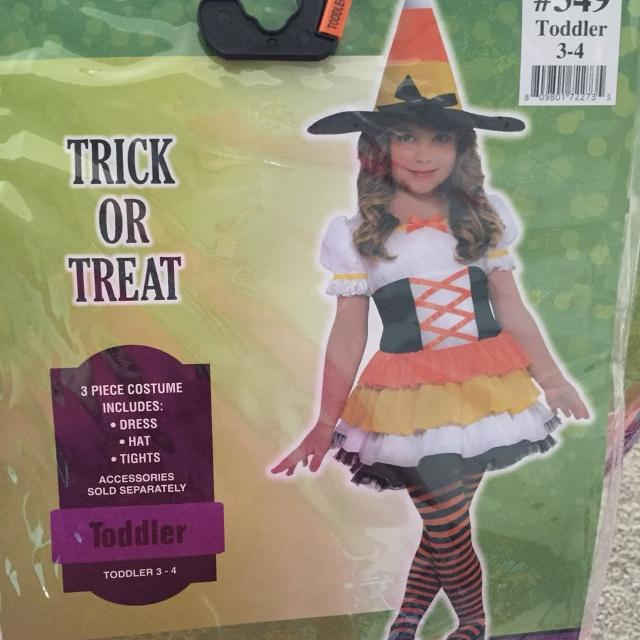 party city candy corn witch costume
