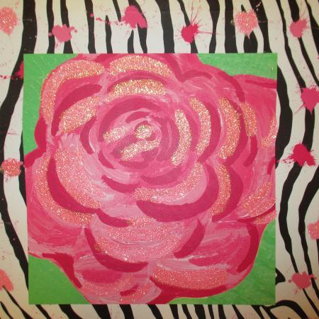 rose/zebra picture for sale  Canada