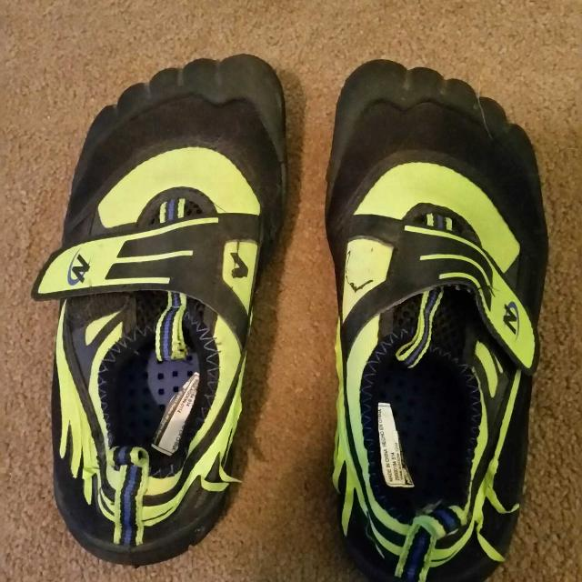 Find more Price Reduced Boys Sz 11/12 Nerf Water Shoes for sale at ...