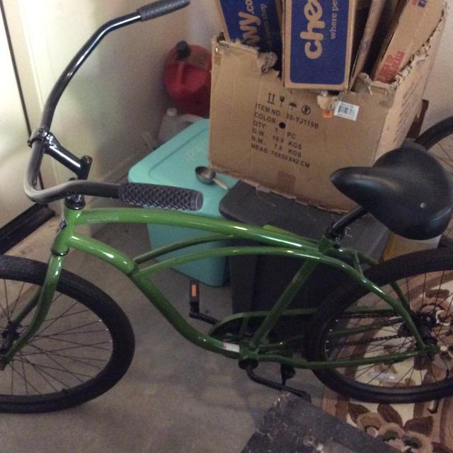 Best Phat Cycles Beach Cruiser Bike-green for sale in Gilbert, Arizona for 2019